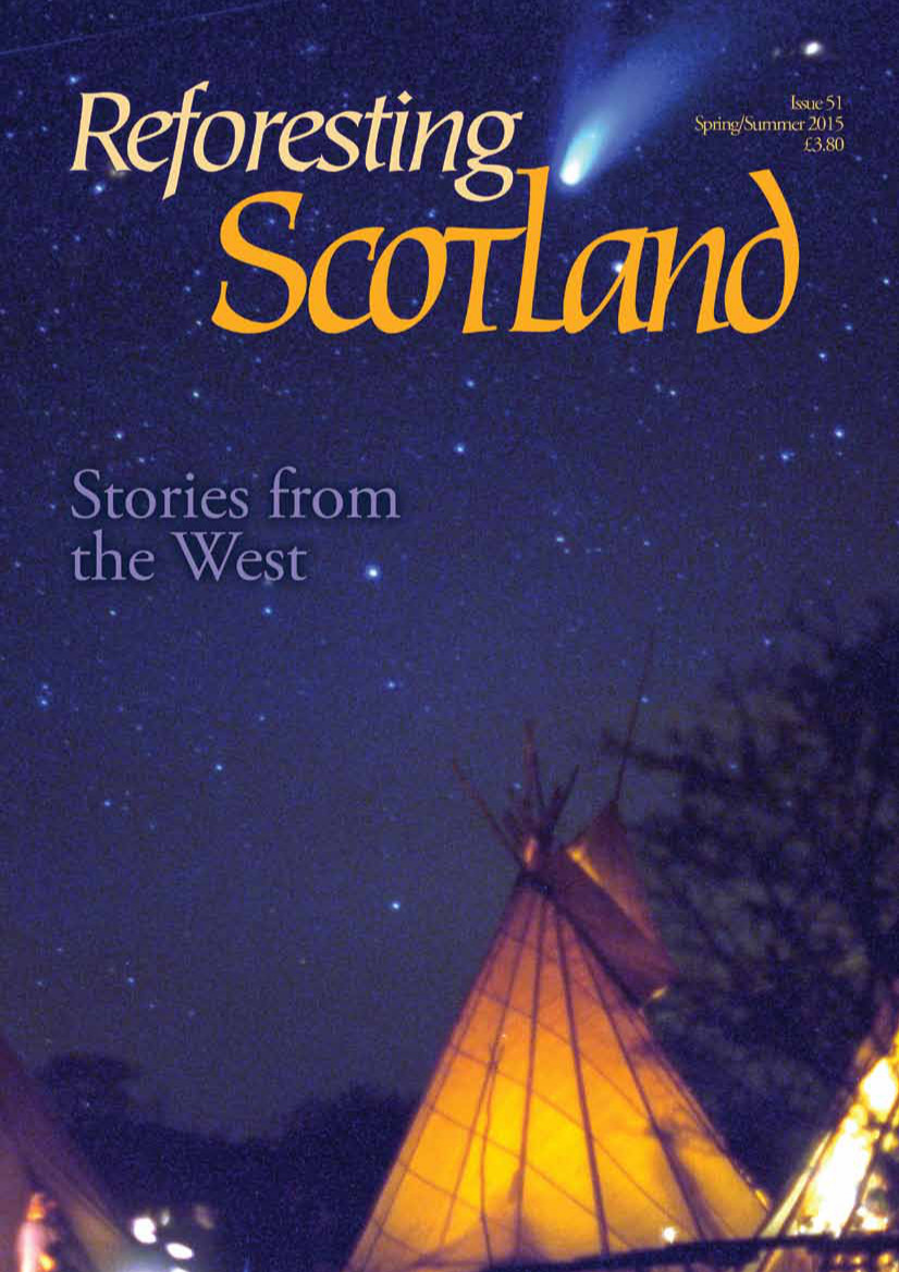 Cover of Reforesting Scotland Journal Issue 51