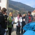StarTree participants on a wild herb walk in Styria, Austria